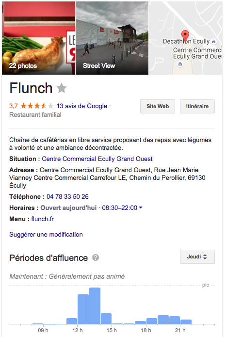 Google Flunch